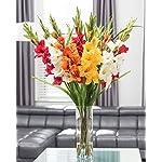 Gladiolus-Silk-Flower-Arrangement-Mixed-Colors