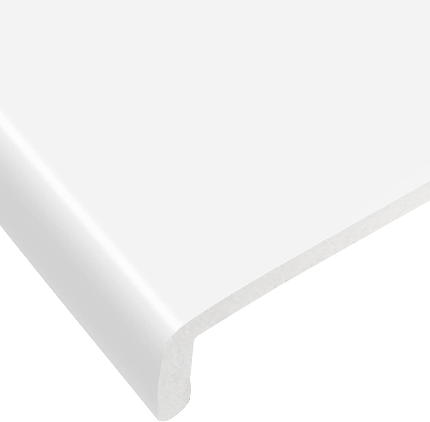 150mm Black Ash UPVC Window Board//Cill Cover 2.5m Long 9mm Thick Plastic Window Sill Capping