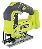 Ryobi One+ P523 18V Lithium Ion Cordless Orbital T Shank 3,000 SPM Jigsaw (Battery Not Included, Power Tool and T Shank Wood Cutting Blade Only) Review