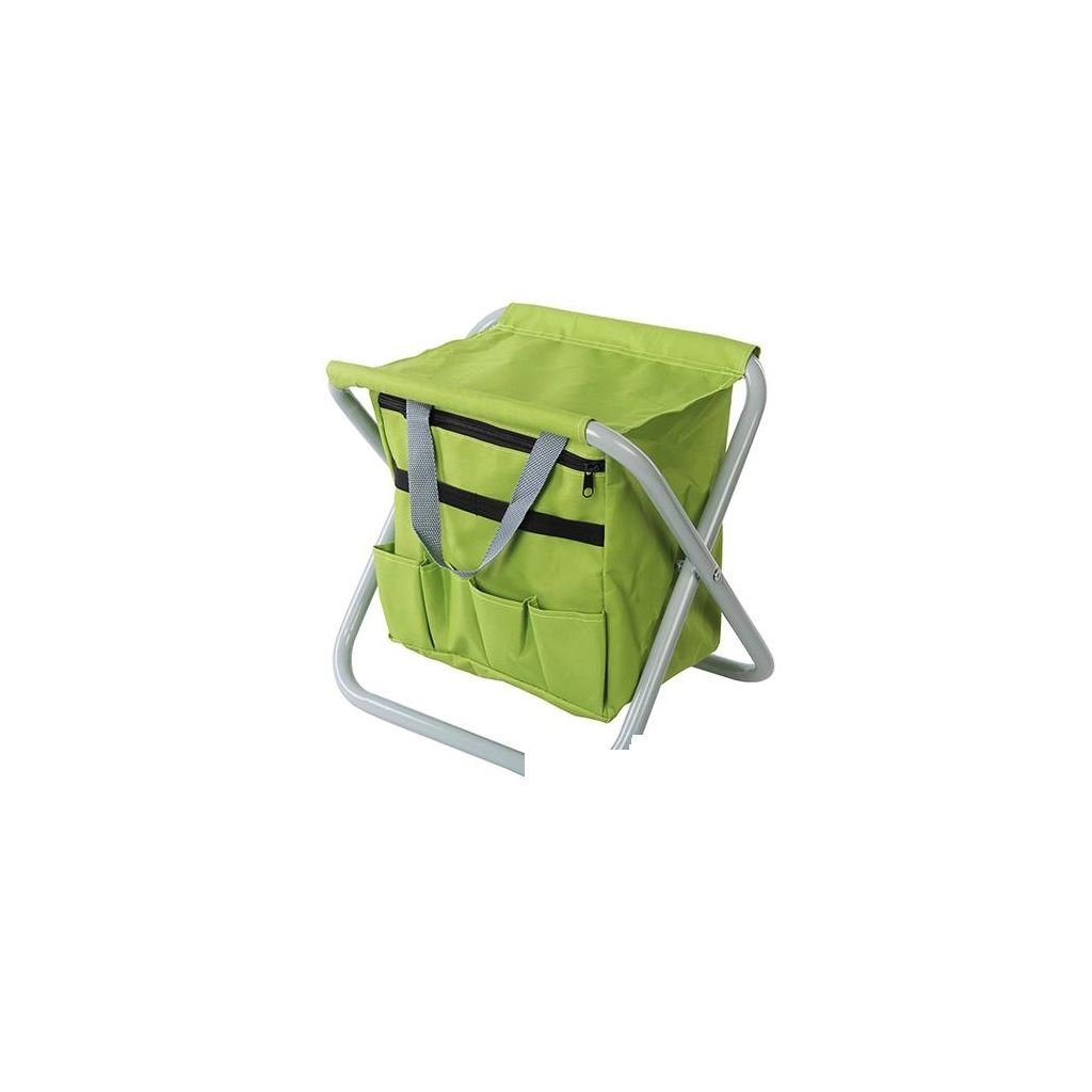 Silverline 498298 360 x 280 x 360 mm Folding Garden Stool