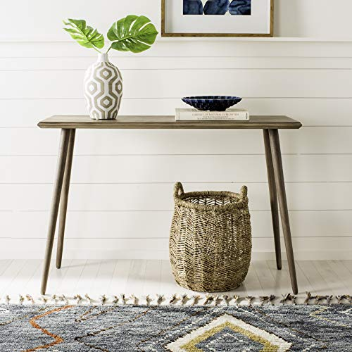 - Safavieh CNS5700B Home Collection Marshal Desert Brown Console Table, Chocolate