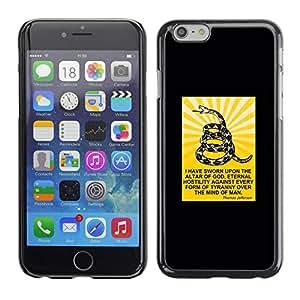 Ziland/Diseño delgado diseño de hombre Cristiano Shel/Serpent de Jesucristo/Apple iPhone 6 Plus 5,5