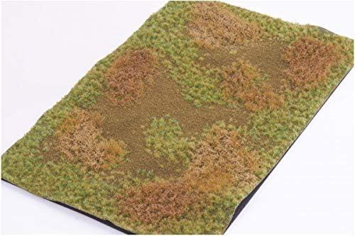 マーティンウェルバーグ 牧草地 マットタイプ 全高4.5mm/1枚 冬 パウダー付き ホビー用素材 WB-M014