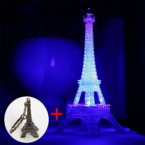 Eiffel Tower Nightlight Desk Bedroom Decoration Led Lamp