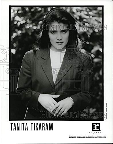Historic Images - 1990 Vintage Press Photo Tanita Tikaram - cvp91859 (The Best Of Tanita Tikaram)