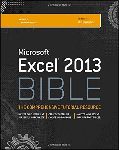 Excel 2013 Bible [John Walkenbach] (Tapa Blanda)