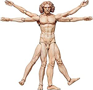FREEing Table Museum The Vitruvian Man Figma Action Figure