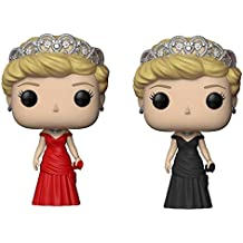 Funko Royal Family POP Princess Diana Vinyl Figure Set with Red Dress Chase