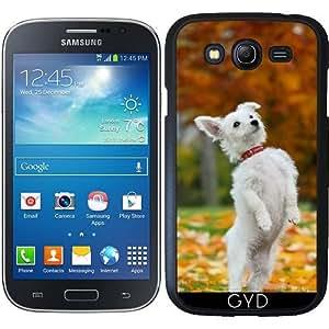 Funda para Samsung Galaxy Grand i9082 - Perro Blanco Perrito Divertido De Pie by Katho Menden
