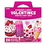 #1: Kangaroo's Strawberry & Cherry Valentine's Scratch and Sniff Cards (28-Count)