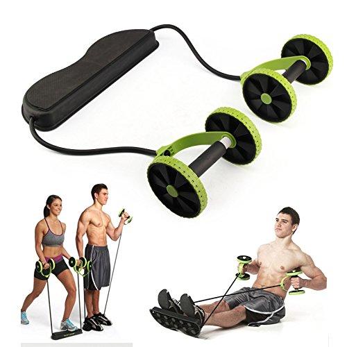 Roue d'exercices de musculation des abdominaux