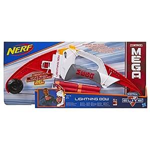 Nerf - Arco lanzadardos Lightning Bow Mega (Hasbro A6276EU4)