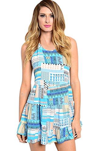 asos abstract print dress - 2