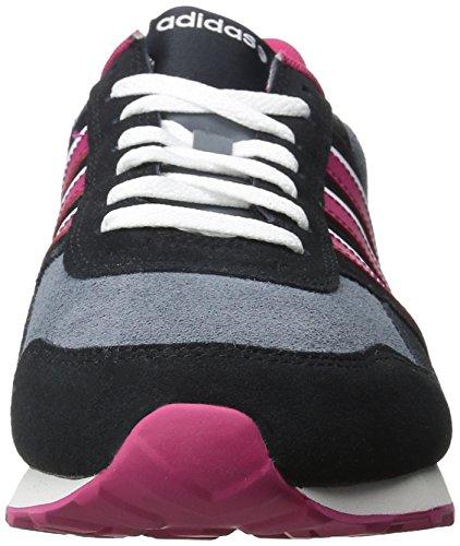 Fett Weiß 9 M Schnürschuh W Damen US Neo 10K adidas Schwarz Pink wxvzYgn