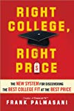 Right College, Right Price, Frank Palmasani, 1402273797