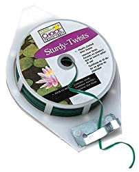 Get sturdy plant ties on Amazon.com - these are perfect for low stress training any cannabis plant