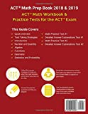 ACT Math Prep Book 2018 & 2019: ACT Math Workbook & Practice Tests for the ACT Exam