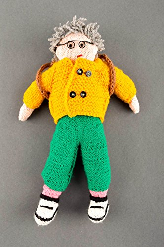 (Handmade Doll Crocheted Doll Stuffed Toy for Babies Nursery Decor Ideas)