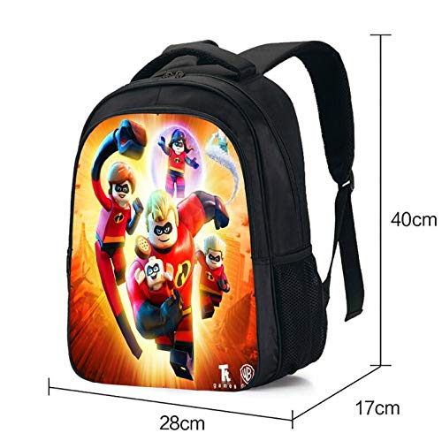 Amazon.com: Pixar Movie The Incredibles 2 Boys Girls Backpack Teenagers Mochila School Bags Action Figure Kids Bag: Kitchen & Dining