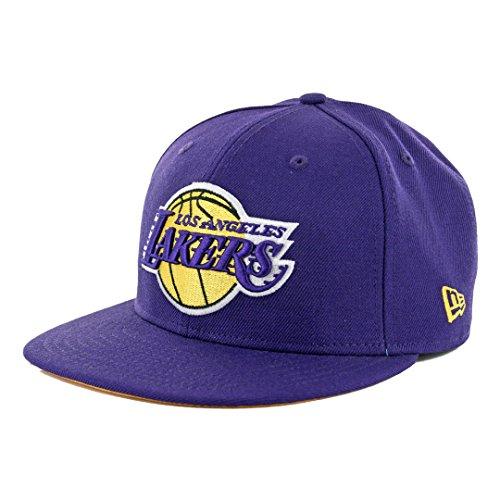 Kobe Bryant Los Angeles Lakers New Era Retirement Collection Purple 24 9Fifty Adjustable Fit Hat (Purple) (Kobe Bryant Hat)