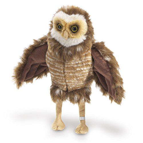 Folkmanis Burrowing Owl Hand Puppet by Folkmanis