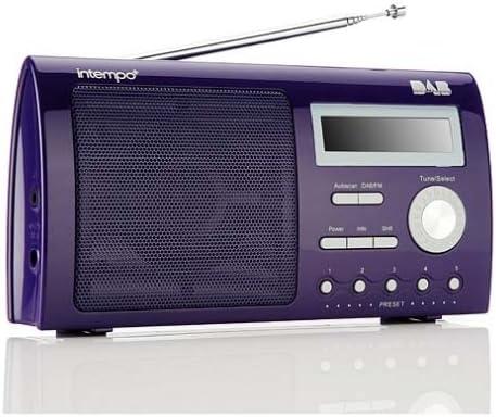 Intempo TRS-01V - Portable DAB Radio - Violet