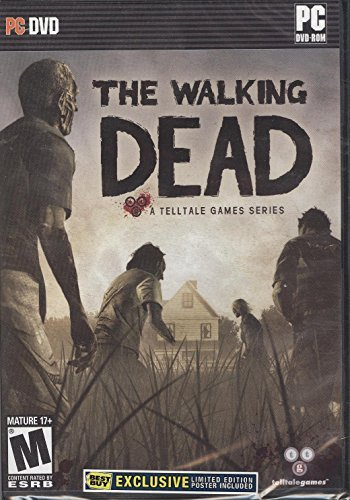 The Walking Dead - PC DVD-Rom Telltale Game