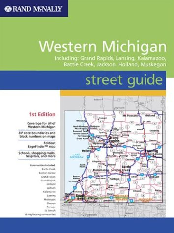 Street Guide - Western Michigan (Rand McNally Street Guides): Rand ...