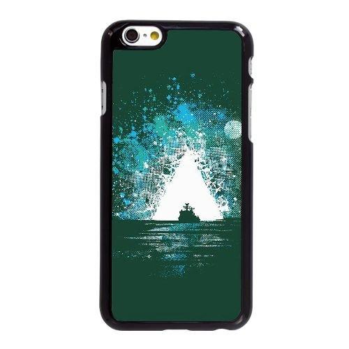 Bermuda iPhone 6 6S 4,7-Zoll-Handy-Fall Hülle schwarz E2Q3NXWOLB