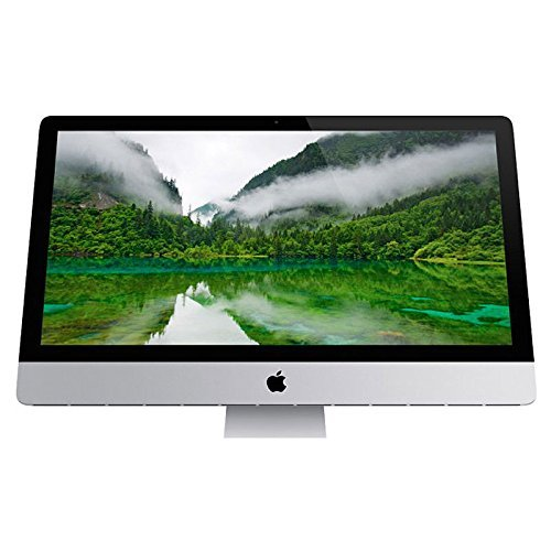"Apple 21.5"" ME699LL/A (Early 2013) iMac Ultra Thin AIO Desktop, FHD IPS Display, Intel Core i3 3.3GHz, 4GB DDR3, 500GB SATA, macOS (Renewed)"