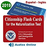 US Citizenship Test Study Guide 2019, Ciudadania Americana 2019 en Español. SPANISH & ENGLISH ( 100 Flash Cards + Audios Online) - 100 Official USCIS Questions & Answers. Ciudadania 2019