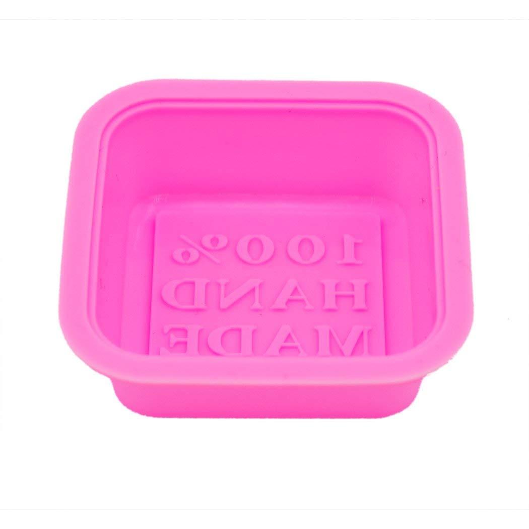 GIVBRO Sapone stampi 100/% Fatto a Mano Quadrato in Silicone Sapone 10-Pack