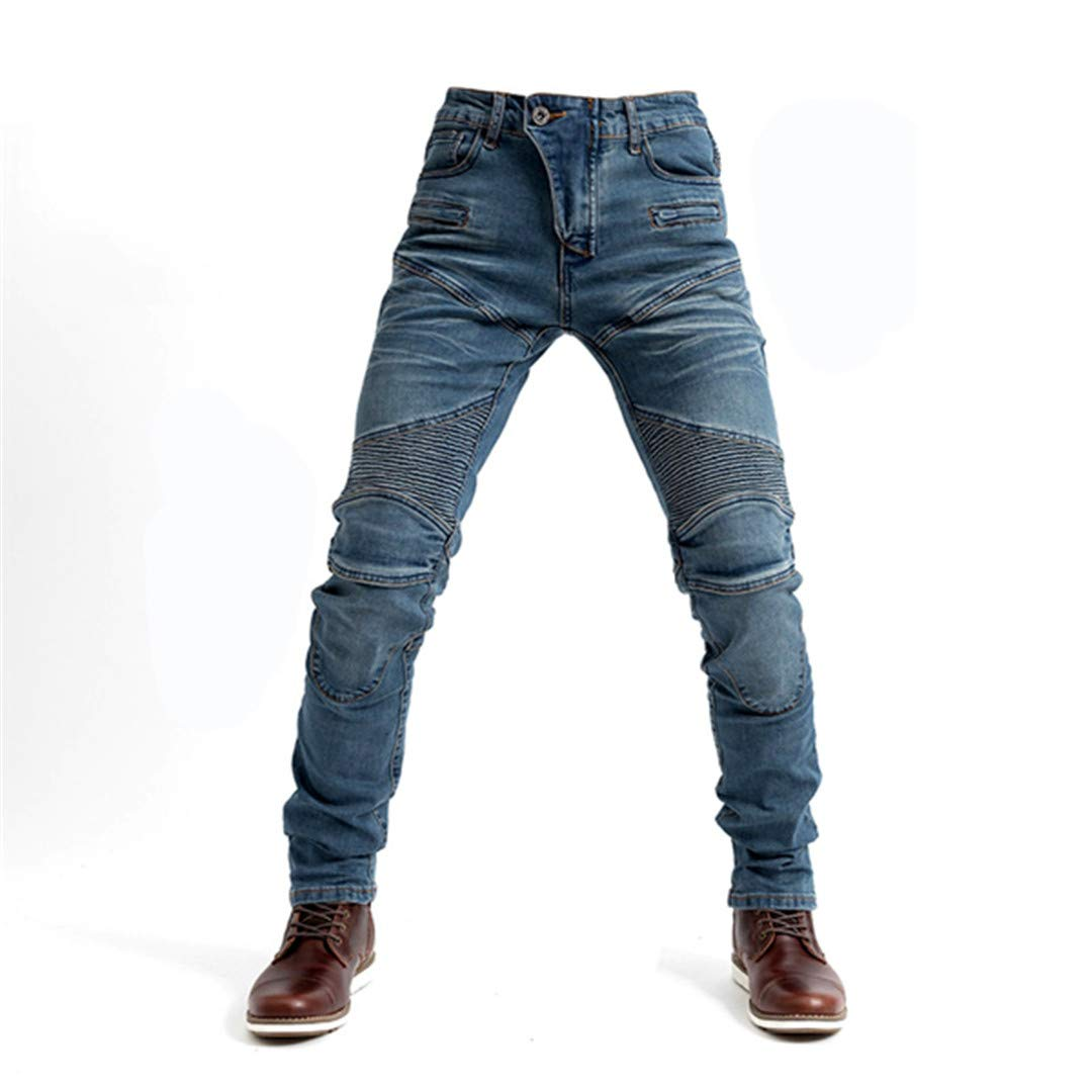 Men Motorcycle Pants Jeans Protective Gear Riding Touring Motorbike Trousers Pants