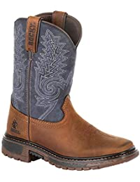 Big Kids' Ride FLX Western Boot