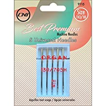 Clover 9115 Best Premium Machine Needles, Universal Needles