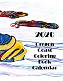 2020 Oregon Coast Coloring Book Calendar