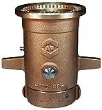 Dixon AK4450NST Aquastream Brass Monitor Nozzle, 2-1/2'' NST