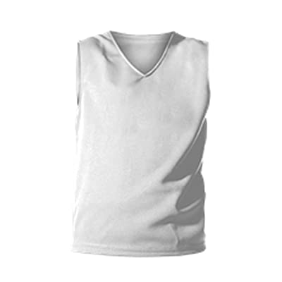 Alleson GIRLS CHEERLEADING SOLID SHELL YOUTH CHEER TOP C100Y