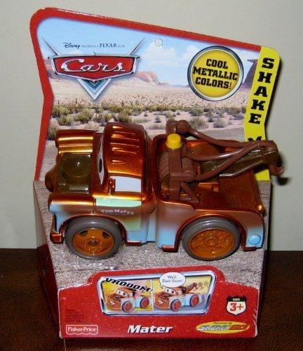 - Fisher Price Shake 'n Go Racers Disney/Pixar Cars - Mater - Cool Metallic Colors!