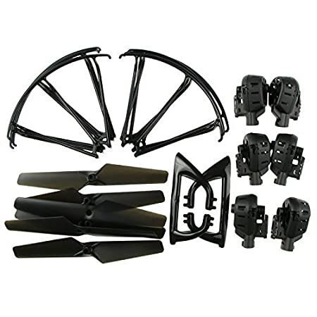 Czxin Replacement Parts Propeller, Motor Cover Frame, Landing Gear ...