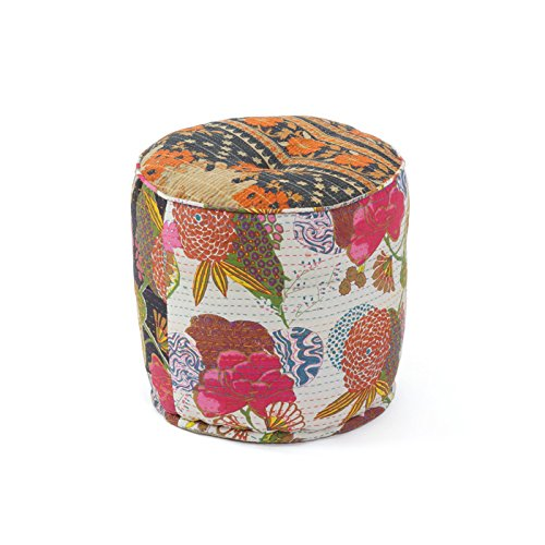 Eclipse Home Collection Kelly Pouf 16'' H x 16'' Dia.