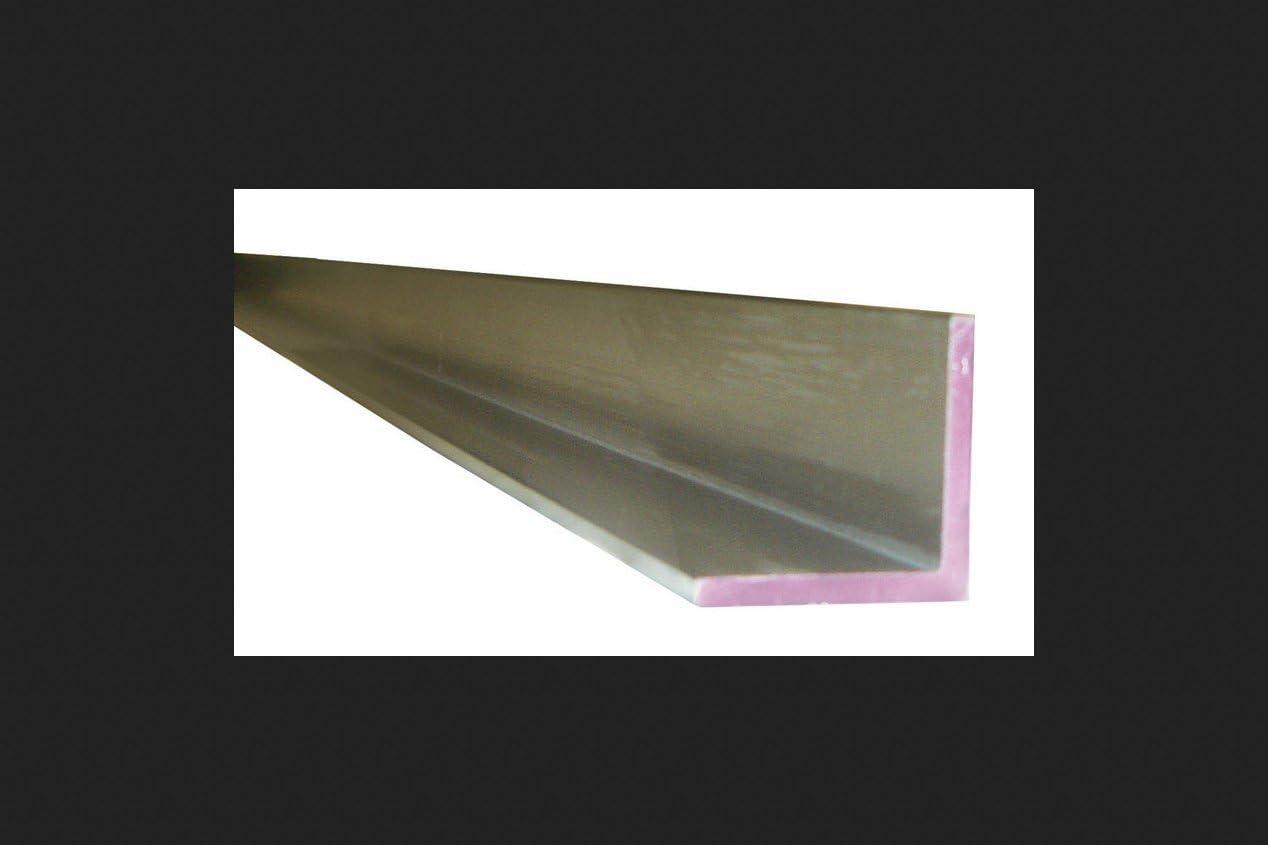 RMP 6063 Aluminum Flat Bar T52 Temper 3//16 Inch x 1//2 Inch x 48 Inch Length Finish Mill Unpolished