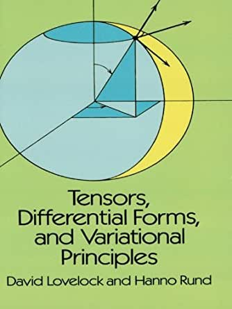 Tensors Differential Forms And Variational Principles border=
