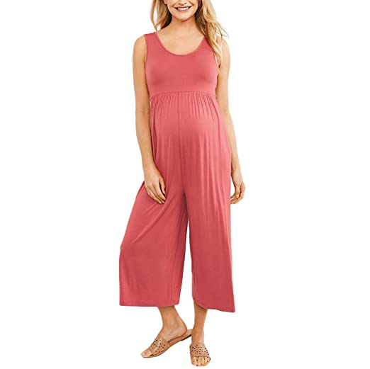 elegant appearance first look good Amazon.com: Riverdalin Maternity Jumpsuit Rompers Pregnancy ...