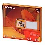 SONY ~ Blank Minidisc ~ 74 Minutes - MDW-74AY (Topaz Yellow)