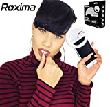 Roxima Clip on Selfie Ring Light with 36 LED For Smart Phone Camera Round Shape, WHITE