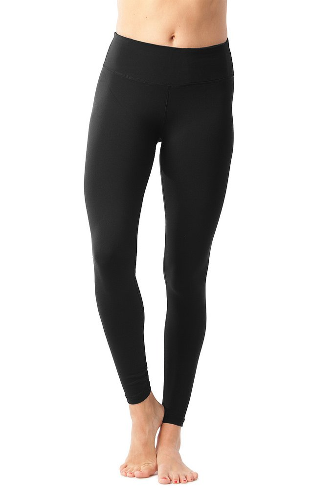 90 Degree By Reflex Power Flex Yoga Pants - Black - XS
