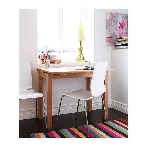 Tavolo 70 X 70 Allungabile Ikea.Ikea Bjursta Extendable Table Oak Veneer 50 70 90x90 Cm