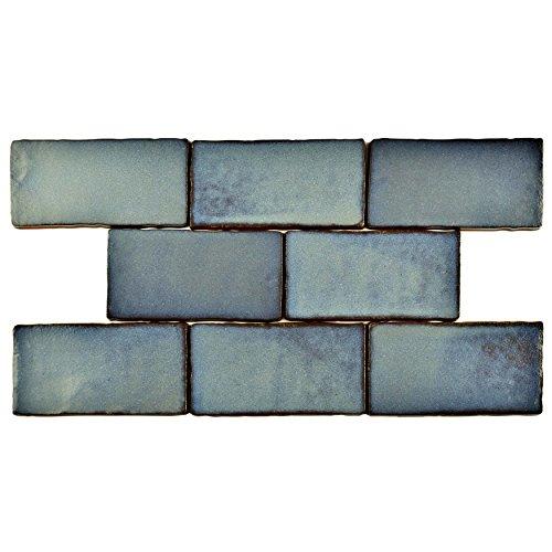 SomerTile WCVASG Antigue Special Griggio Ceramic Wall Tile, 3