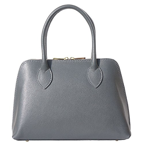 304 Leather Top Saffiano Grey Bag Gdark handle wIOnC4xq